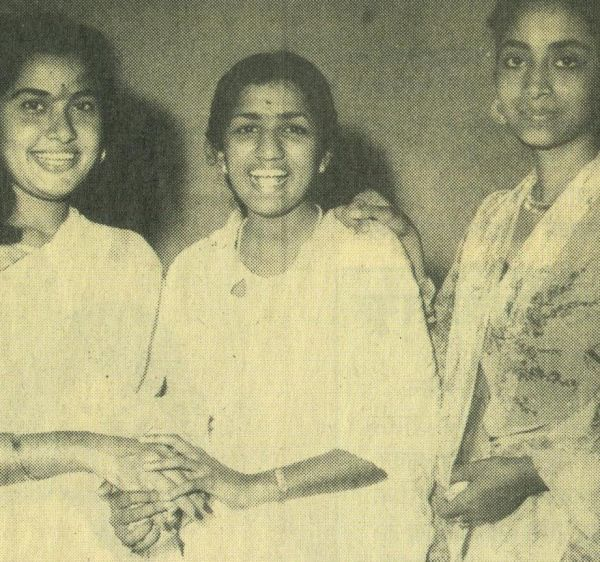 Meena Kapoor, Lata and Geeta Dutt