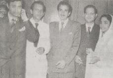 Dev Anand, Johny Lever, Guru Dutt, Geeta Dutt