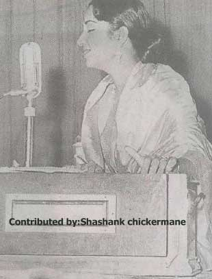 Geeta Dutt singing