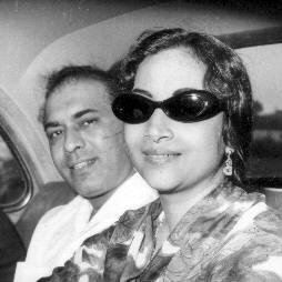 Geeta Dutt with Talat Mahmood
