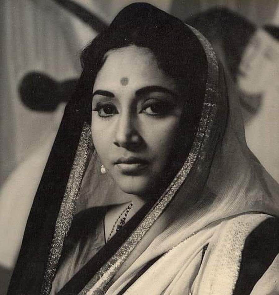 Geeta ji (B&W Picture)