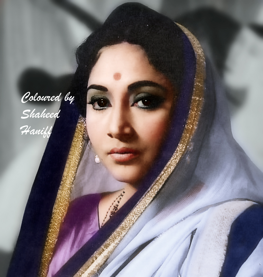 Geeta ji (picture colourised by Shaheed Haniff)
