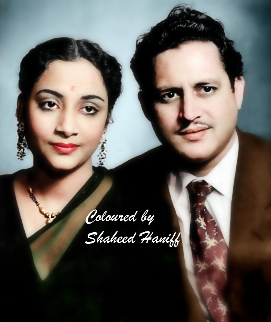 Geeta ji with Guru Dutt