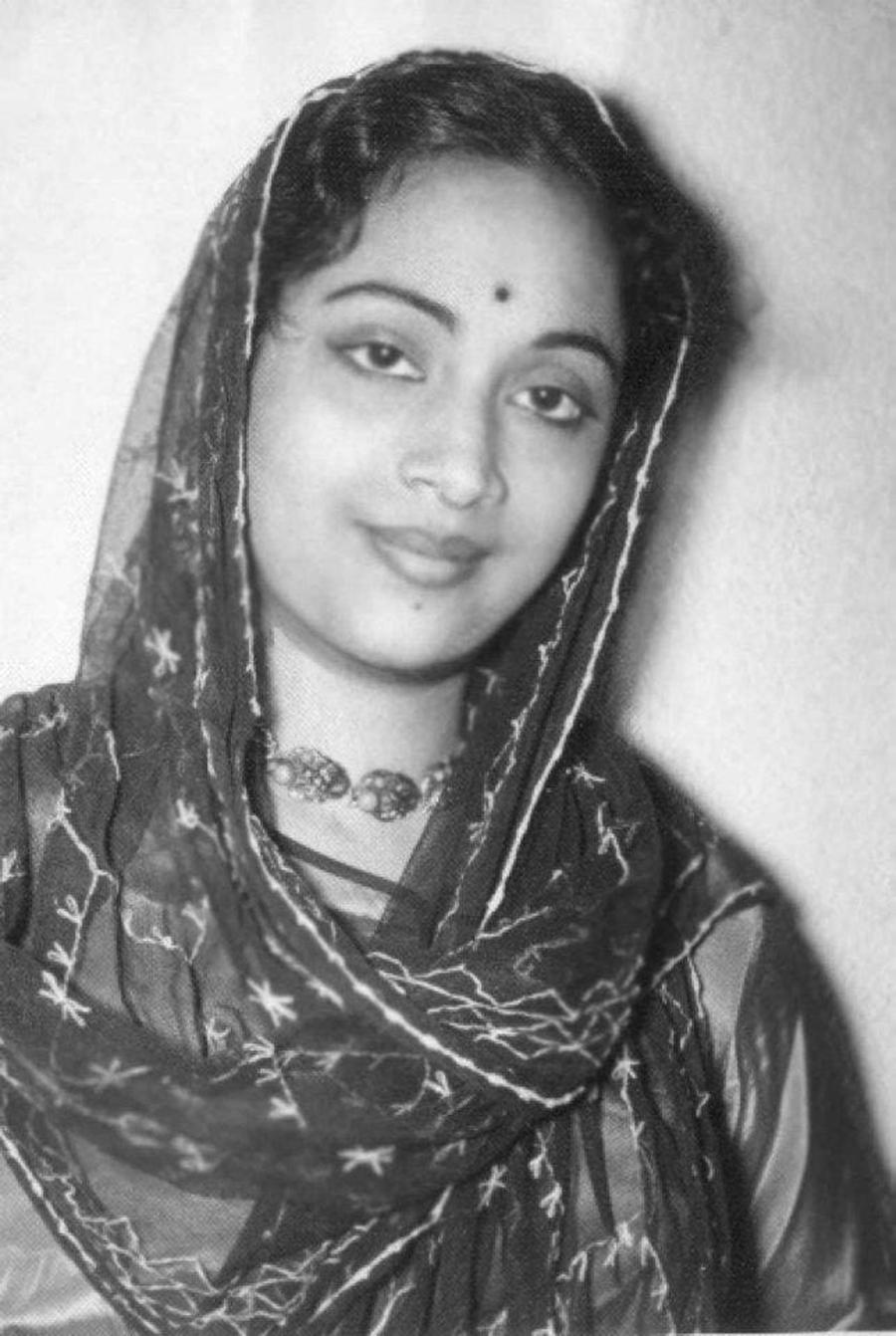 Geeta ji (Original B&W Picture)