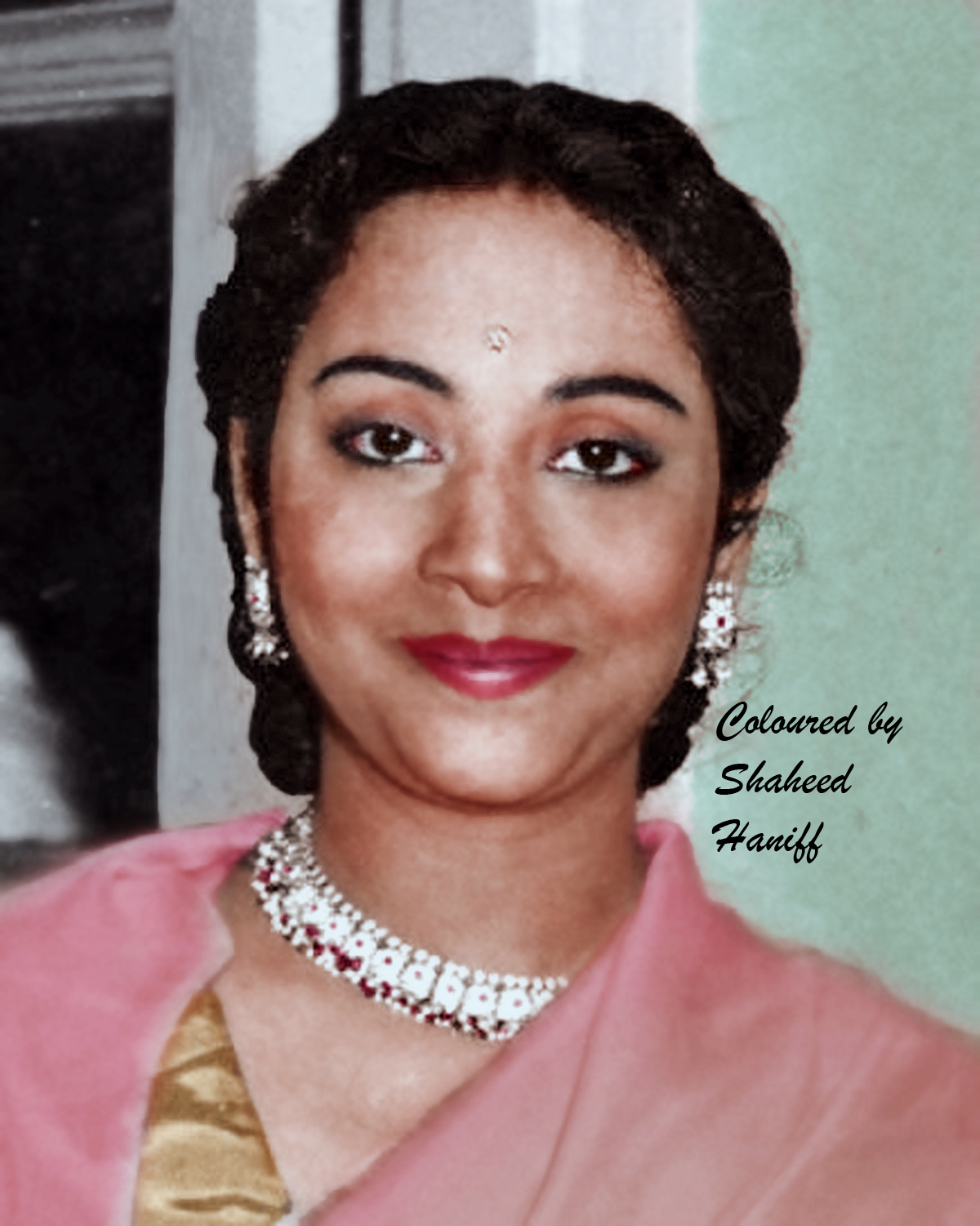 Geeta Dutt ji (colourised Picture)